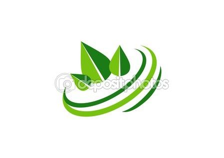Circle green leaves logo, ecological balance symbol, natural botany icon vector design  #circle #green #leaves #logo #ecology #balance #symbol #nature #icon #stock #vector #design http://depositphotos.com?ref=3904401