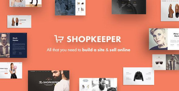 Shopkeeper Responsive WordPress Theme free download