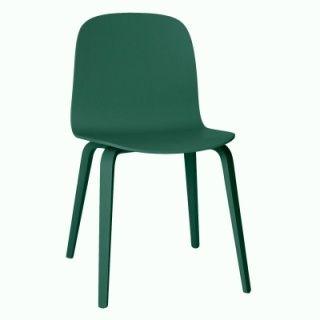 Muuto Visu stol treben, grønn   Muuto   Stoler & puffer