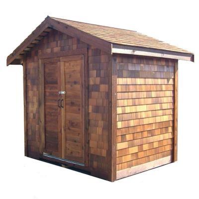 6 Ft X 6 Ft Cedar Shed Via Home Depot Nana S House