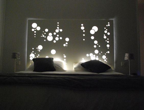 Des bulles lumineuses au dessus de votre tête. photo Pinterest