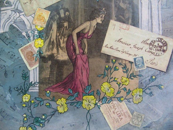 Tableau un certain art de vivre Italie - Opéra et cantatrice - Livraison Gratuite : Décorations murales par akhacia-creations