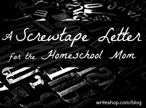 The Screwtape Letters Essay Topics & Writing Assignments