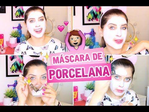 MÁSCARA DE PORCELANA (Caseira - Pele Incrível) - #3 VEDA - DICAS DA DEDESSA - YouTube