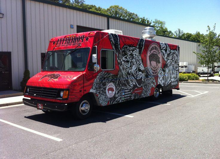 Porchetta Food Truck | Food Trucks South – Manufacturing of Custom Food Trucks