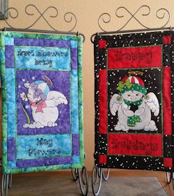 Machine Embroidery Designs Software by Bee Unique - Snow Angels