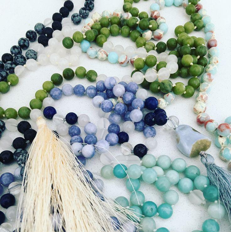 Mala Necklaces www.etsy.com/shop/ukulifebeads