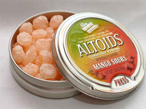 Oh, how I loved the tangerine sours from Altoid.  They have been discontinued for a couple of years now.  My all-time favorite candy.