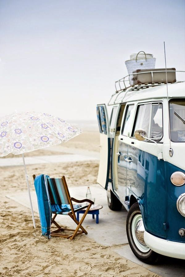 Life on the road in a beautiful camper van - couldn't think of anything better
