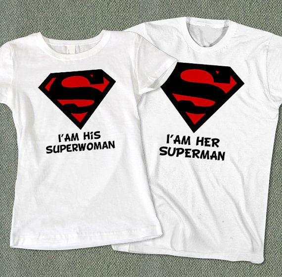 I am His Superwoman and I am Her Superman T-Shirt - Color Available on Etsy, $39.00