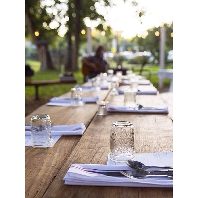 Eden East at Springdale Farm makes the distance from farm-to-table a very short one. Fixed price dinners are available on Friday and Saturday evening at Springdale Farm in East Austin. Dinners are BYOB.