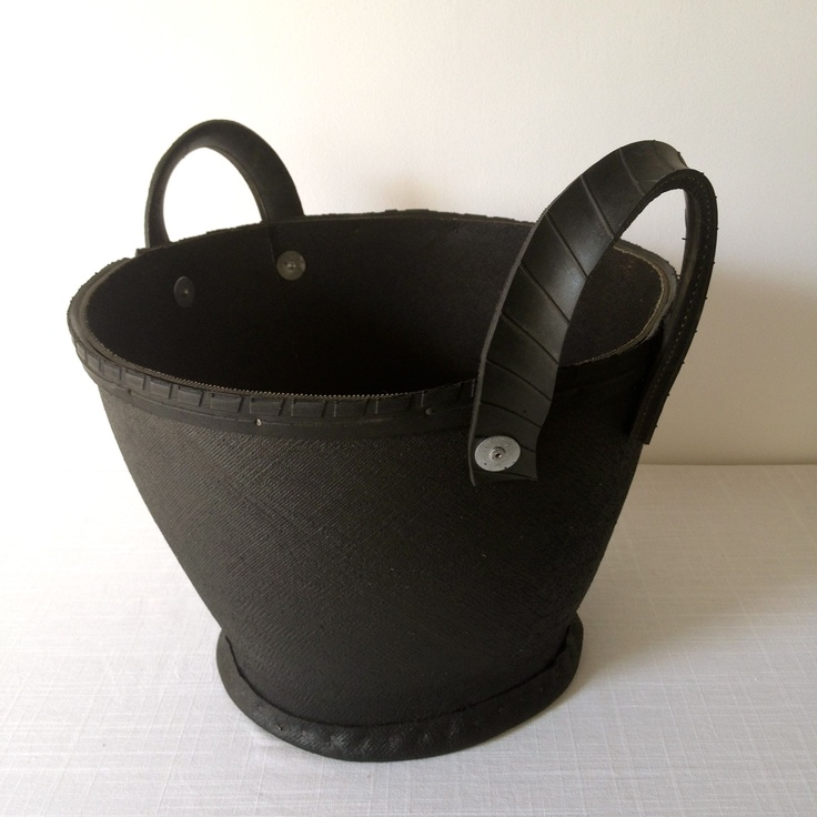 Recycled tyre planter / carrier. Available as part of our hamper collection www.thecleverhampercompany.co.uk