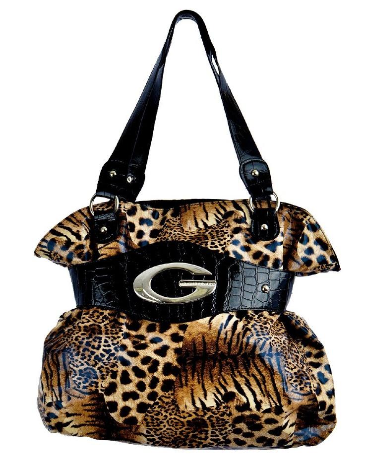 animal print purses and handbags | Home > Women > Bags > Medium Handbags > Tiger/Leopard Print G Purse Beautifuls.com Members VIP Fashion Club 40-80% Off Luxury Fashion Brands