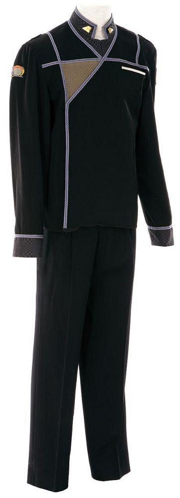 Sheridan's Army of Light uniform--look, the shirt is untucked! #Babylon5 #cosplay