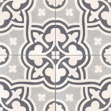 Carreaux Terrazzo - décors 4 carreaux - Carreau VIVIENNE 01.07.27 - Couleurs & Matières