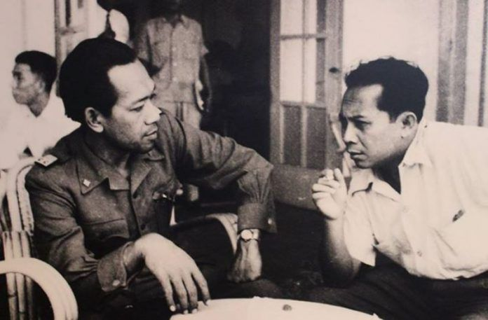 Sri Sultan Hamengkubuwono IX bersama Sutan Sjahrir