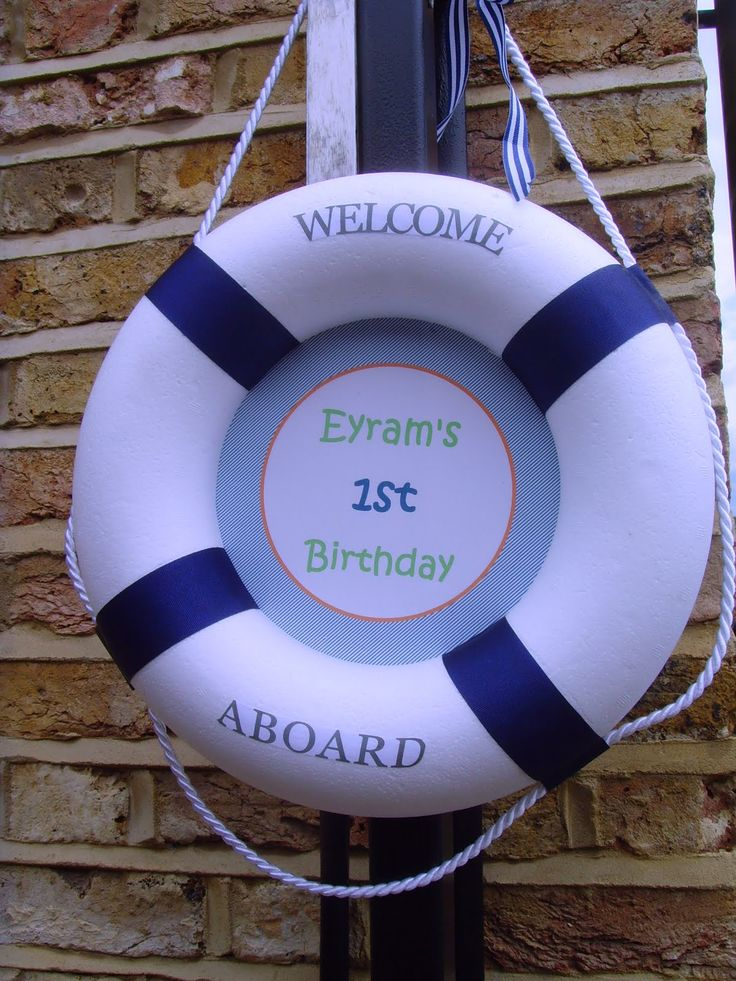 Image detail for -... were working on a nautical themed 1st birthday party which has seen us