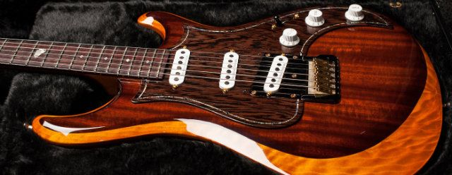 Knaggs Guitar With Seymour Duncan Pickups