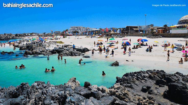 Playa Las Piscinas Bahía Inglesa http://bgls.cl