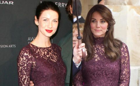 Caitriona Balfe, Kate Middleton - 22-10-2015 - Chi lo indossa meglio: Kate…