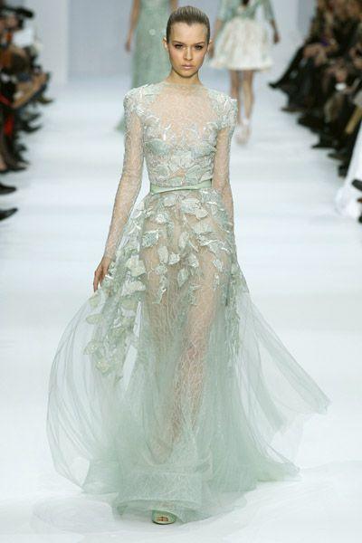 Elie Saab Alta Costura Primavera-Verano 2012: no es un sueño, es Elie Saab