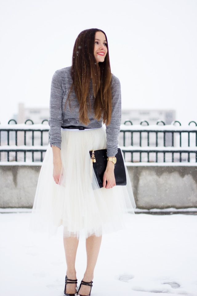 tulle skirt pattern / cotton and curls