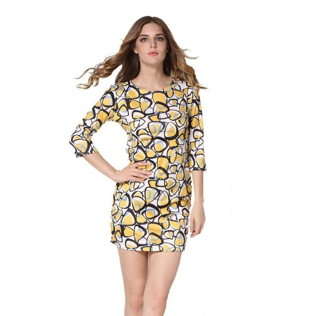 Give this a look : Fashion New Dress Women Sexy Floral Printed Three Quarter Plus Sise Evening Party Sundress Colorful Beach dresses Tunic Vestidos http://www.shortthickandcurvy.com/products/fashion-new-dress-women-sexy-floral-printed-three-quarter-plus-sise-evening-party-sundress-colorful-beach-dresses-tunic-vestidos?utm_campaign=crowdfire&utm_content=crowdfire&utm_medium=social&utm_source=pinterest