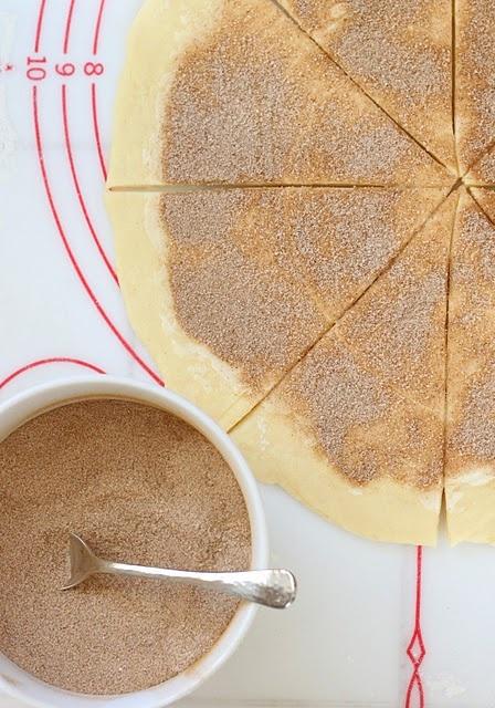 Swedish Cinnamon Butterhorns, or Kanelbullar, are the Scandinavian equivalent of the American cinnamon roll.