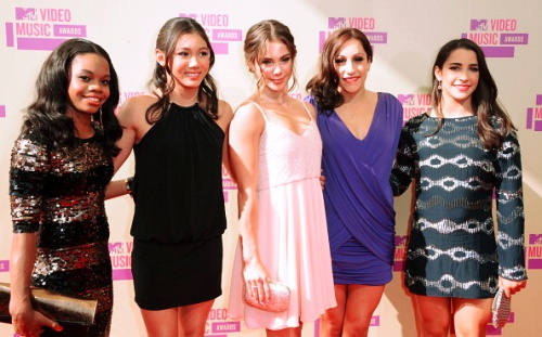 The Fierce Five looking gorgeous at the MTV Awards