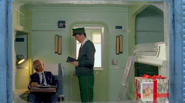 H&M Christmas I Wes Anderson I Adrien Brody