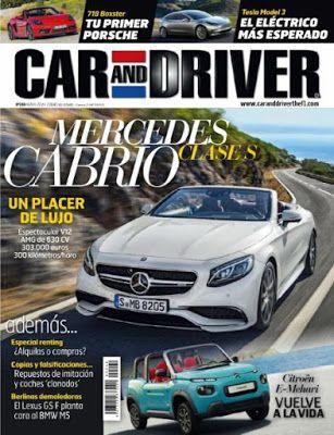 Revistas PDF En Español: Revista Car and Driver España - Mayo 2016 - PDF Tr...