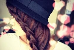 Awesome hair style girl picture for FB DP