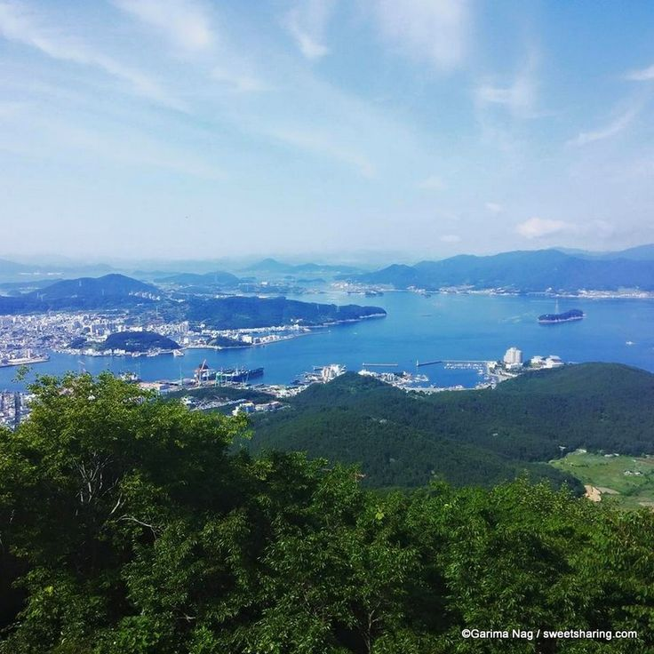 Mireuksan Mountain and Hallyeo Cable Car Tongyeong