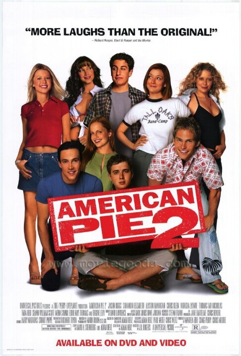american pie 2 2001 favorite movies pinterest american pie movie and films. Black Bedroom Furniture Sets. Home Design Ideas