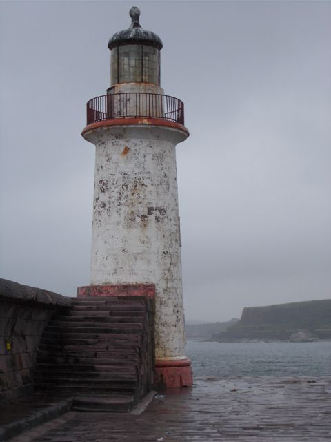 Third #Lighthouse Whitehaven Harbour Photo by S Robertson 26/6/16    http://dennisharper.lnf.com/
