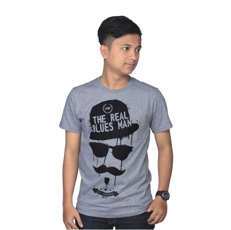 Kaos Distro / T-Shirt Pria - PS 121. Produk fashion handmade asal Bandung dengan bahan nyaman digunakan, desain trendy dan tidak pasaran. Membuat tampil percaya diri.  Detail Produk:   Ukuran: S - XL  Bahan: COTTON  Warna: ABU ABU  Yuk di order, belanja lebih hemat.   #Catenzo #Kaos Pria