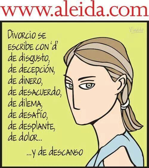 Aleyda divorcio