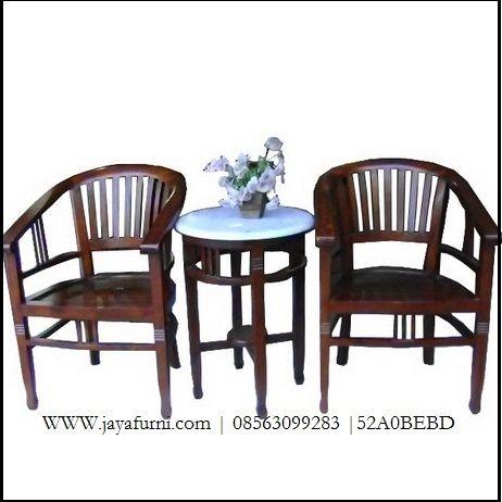 KURSI TERAS BETAWI JATI SET DAN MEJA Kursi Teras Betawi Jati Set Dan Meja dengan bahan kayu jati berkualitas set rmerupakan…