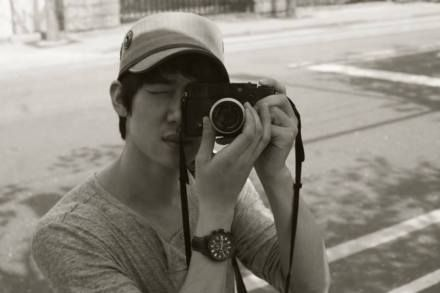 Yoo Yeon-seok and camera