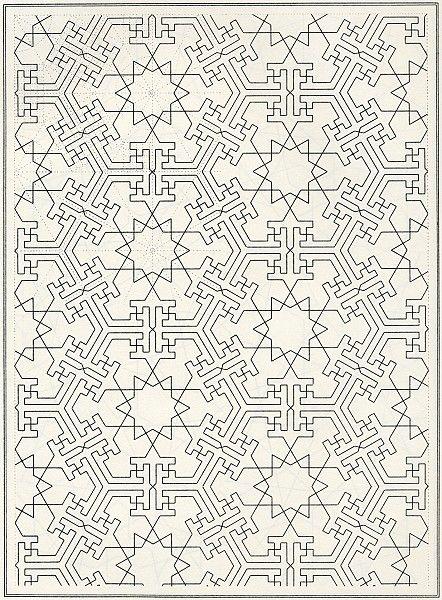 patterns in islamic art