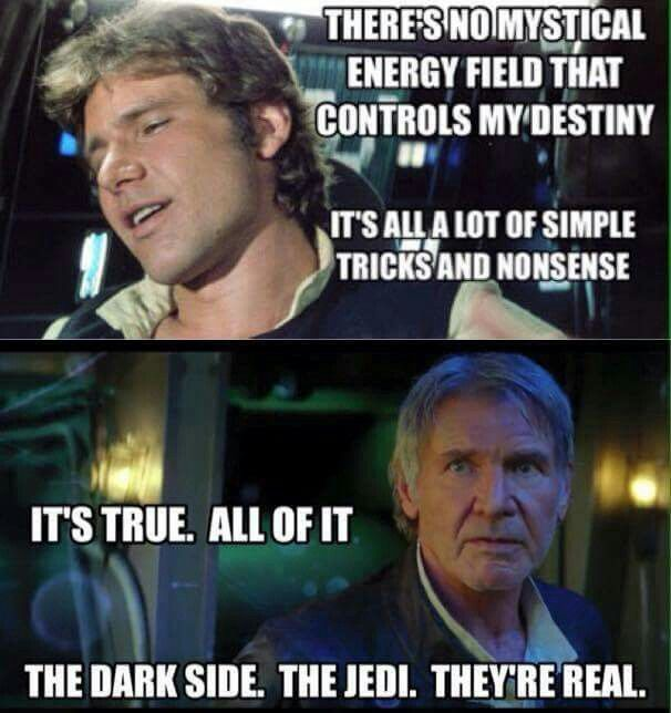 The Force Awakens.