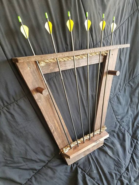 Check out this item in my Etsy shop https://www.etsy.com/listing/293454507/custom-bow-rack