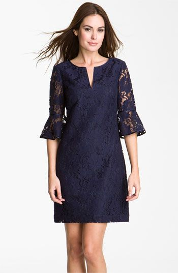 Ruffle Sleeve Lace Dress: Ruffles Sleeve, Adrianna Papell, Style, Woman Dresses, Papell Ruffles, Ruffle Sleeve, Bride Dresses, Sleeve Lace, Lace Dresses