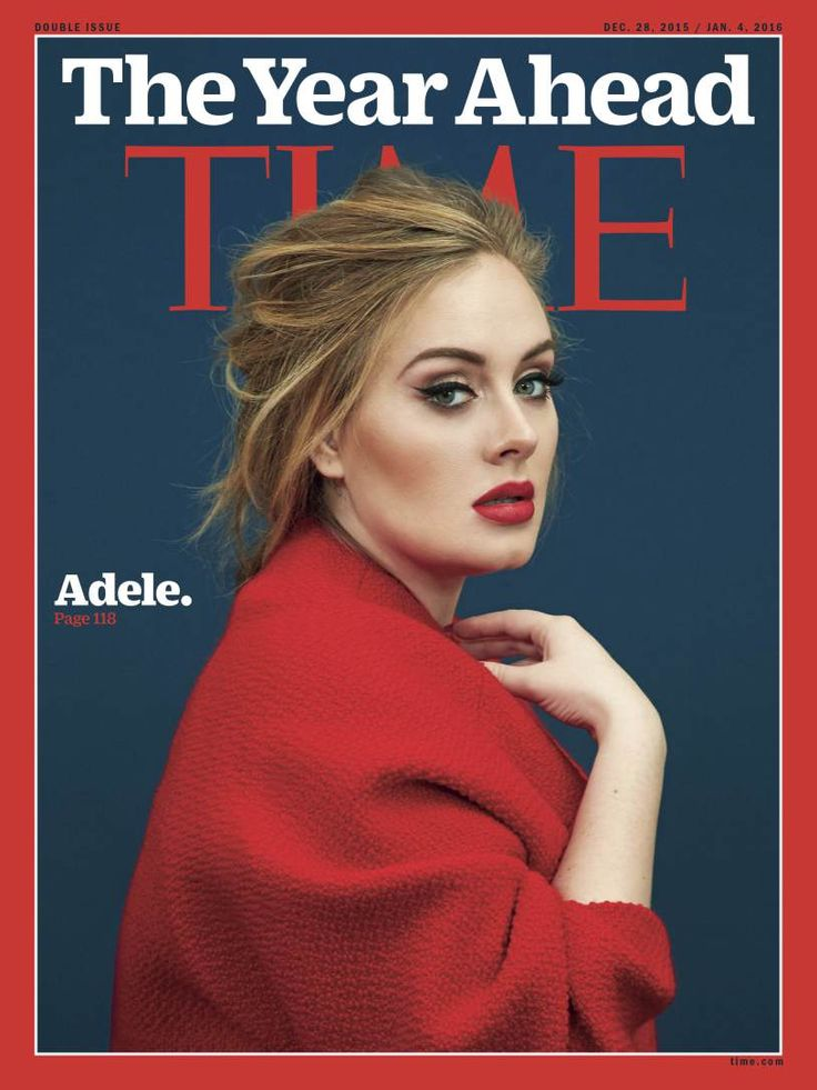 Beauty Mags: Adele | Time US December 2015