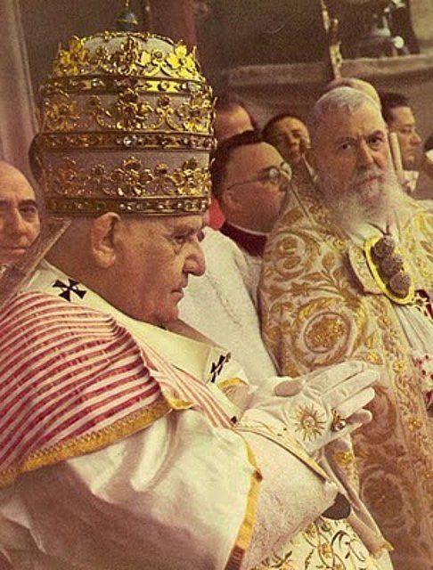 PRINCIPALES FIESTAS CATOLICAS: Juan XXIII y el culto a la Preciosa Sangre de Jesucristo