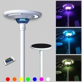 20 Watt UFO Solar Powered LED Light Post Fixture