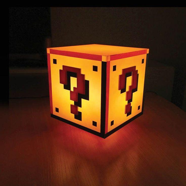 Super Mario Question Block Light
