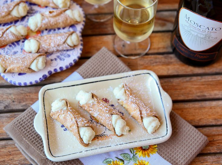 Learn how to make a classic dessert in the traditional way!  Fresh ricotta and homemade cannoli.  :)