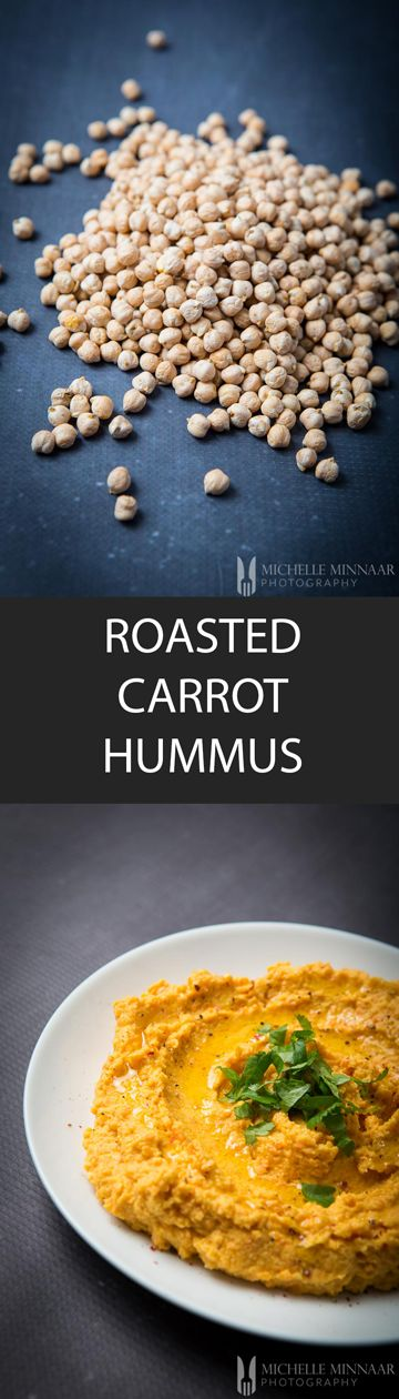Roasted Carrot Hummus - {NEW RECIPE} This exotic roasted carrot hummus recipe is vegan-friendly, lactose- and gluten-free. It's so versatile you can spread it, use it as a dip or as a condiment with any main meal or snack. Kids will gravitate to it and you can play with so many different flavours.