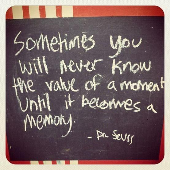 Dr Seuss was such a sage...